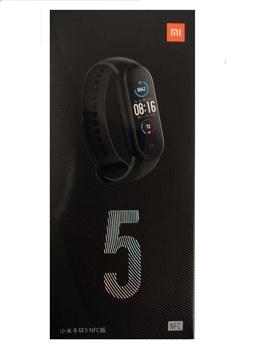 Умный браслет Xiaomi Mi Band 5 NFC, черный