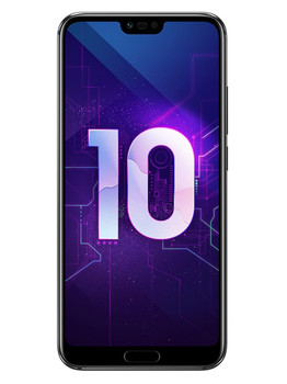 Honor 10 4/128Gb Black (черный) Global Version