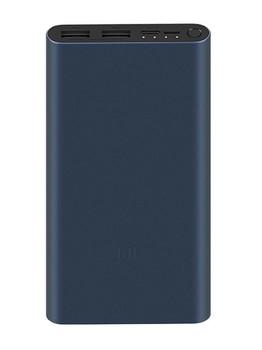 Xiaomi Mi Power Bank 3 10000 mAh PLM13ZM, черный