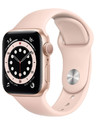Apple Watch Series 6 GPS 44mm Aluminum Case with Sport Band Gold/Pink (золотистый/розовый песок) M00E3