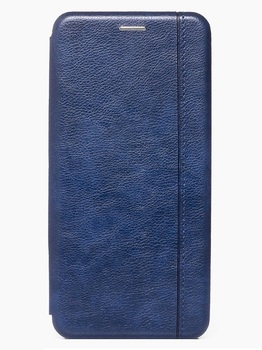 Чехол-книжка для Xiaomi Redmi Note 9S/9 Pro синий
