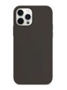 Силиконовый чехол для Apple iPhone 12 Pro графитовый