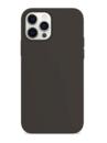 Силиконовый чехол для Apple iPhone 12 Pro Max графитовый