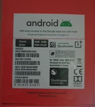 OnePlus 8 Pro 12/256Gb Glacial Green EU