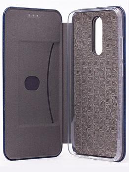 Чехол-книжка для Xiaomi Redmi 8 синий