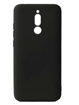Силиконовый чехол для Xiaomi Redmi 8 черный