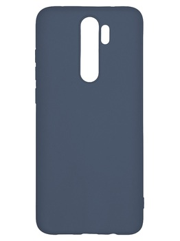 Силиконовый чехол для Xiaomi Redmi Note 8 Pro синий