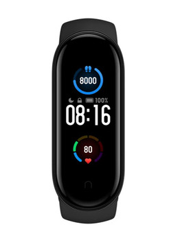 Умный браслет Xiaomi Mi Smart Band 5, черный