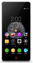 ZTE Nubia Z9 mini Black